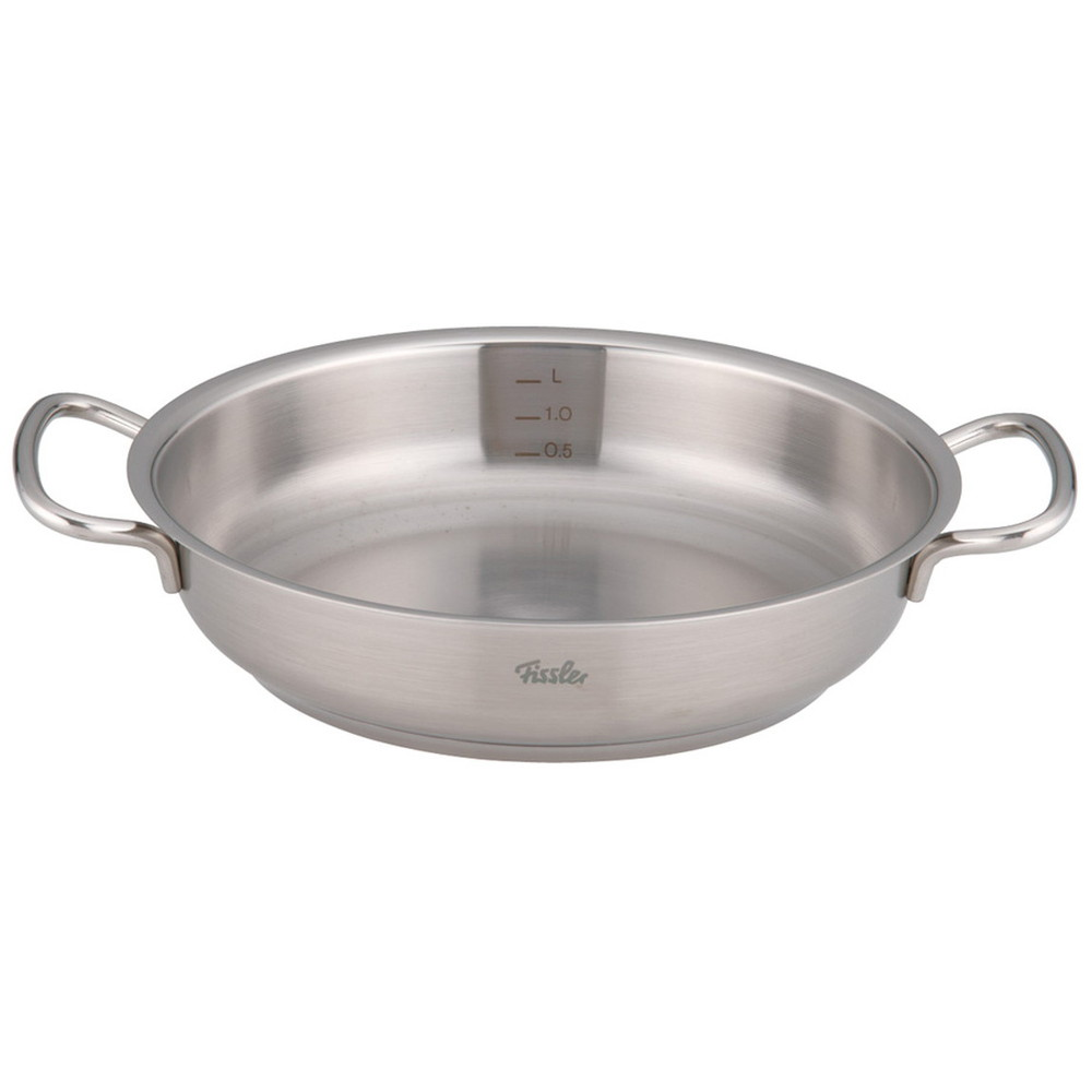 フィスラー 18-10サーブパン 84-358-241 24cm [ 料理道具 ] | 厨房 キッチン 飲食店 ホテル レストラン 業務用