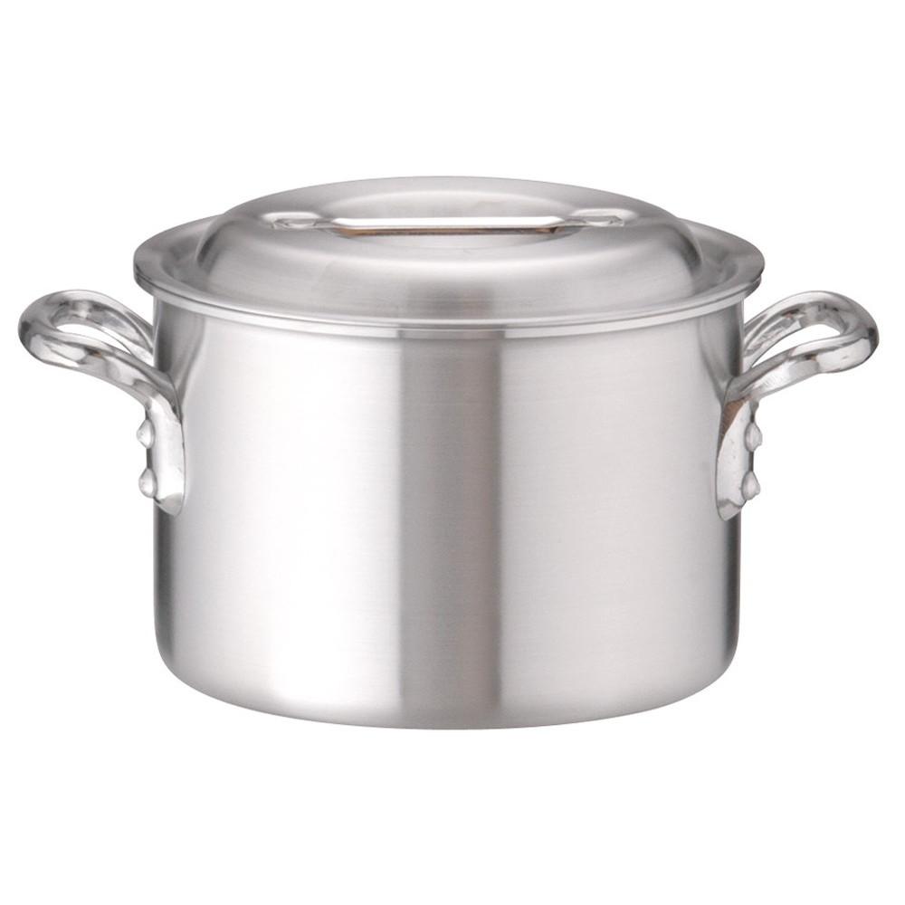 アルミDON半寸胴鍋 18cm [ 外径:196mm 深さ:130mm 3.2L ] [ 料理道具 ] | 厨房 キッチン 飲食店 ホテル レストラン 業務用