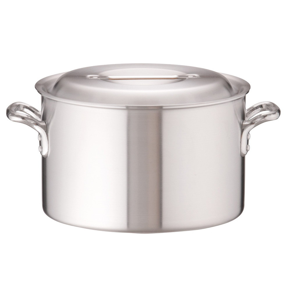 アルミDON半寸胴鍋 33cm [ 外径:349mm 深さ:210mm 17L ] [ 料理道具 ]   厨房 キッチン 飲食店 ホテル レストラン 業務用