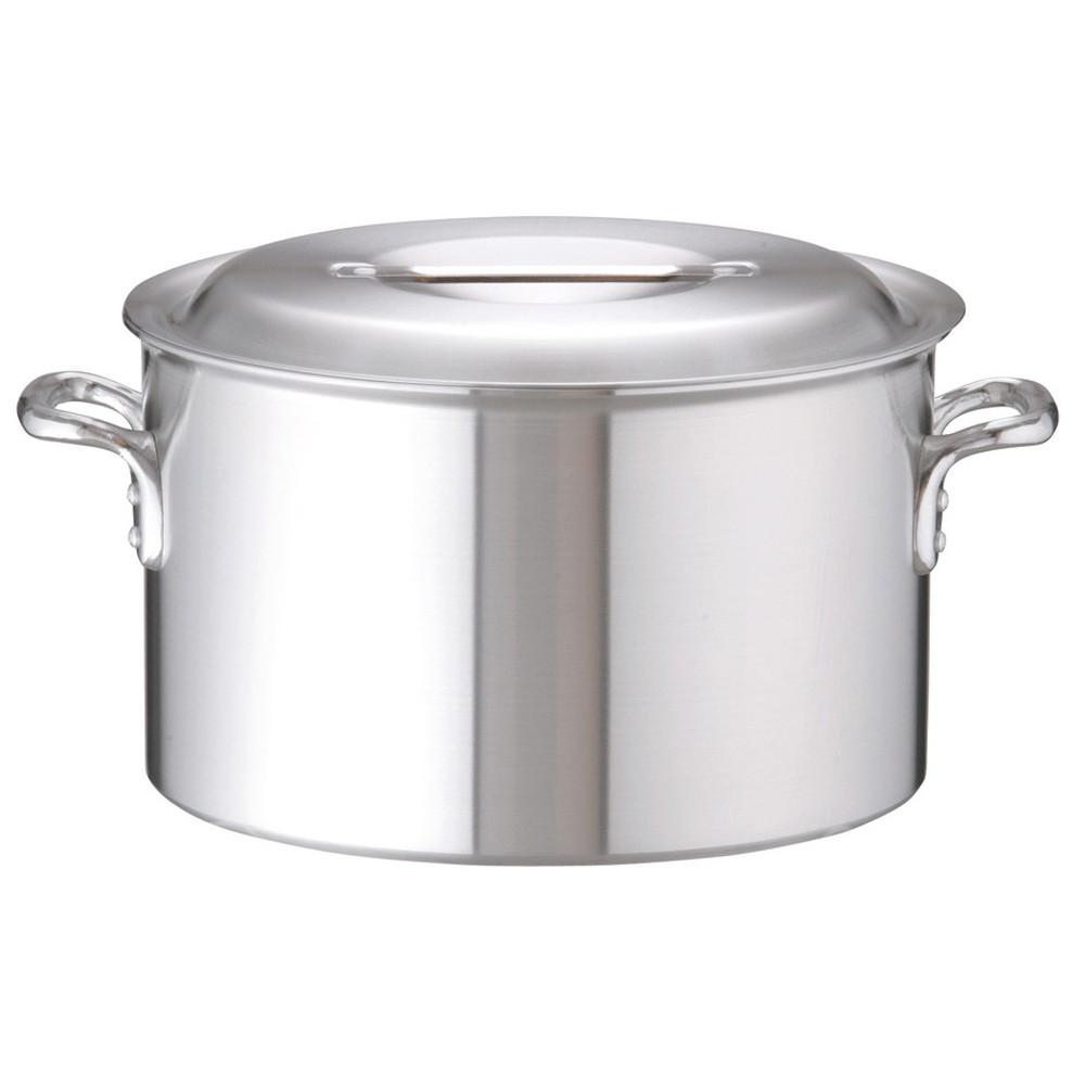 アルミDON半寸胴鍋 39cm [ 外径:410mm 深さ:240mm 28L ] [ 料理道具 ] | 厨房 キッチン 飲食店 ホテル レストラン 業務用