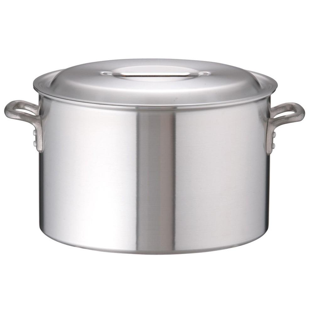 アルミDON半寸胴鍋 45cm [ 外径:471mm 深さ:290mm 45L ] [ 料理道具 ] | 厨房 キッチン 飲食店 ホテル レストラン 業務用