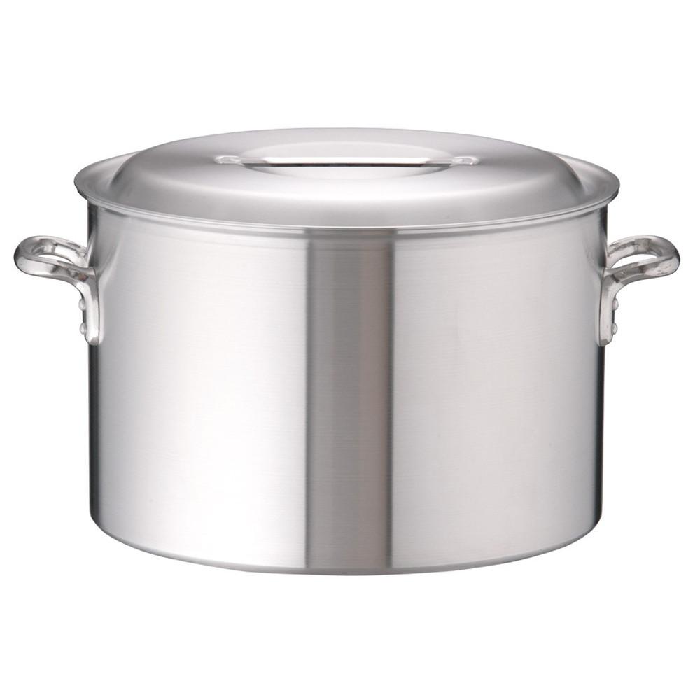 アルミDON半寸胴鍋 48cm [ 外径:501mm 深さ:320mm 57L ] [ 料理道具 ] | 厨房 キッチン 飲食店 ホテル レストラン 業務用