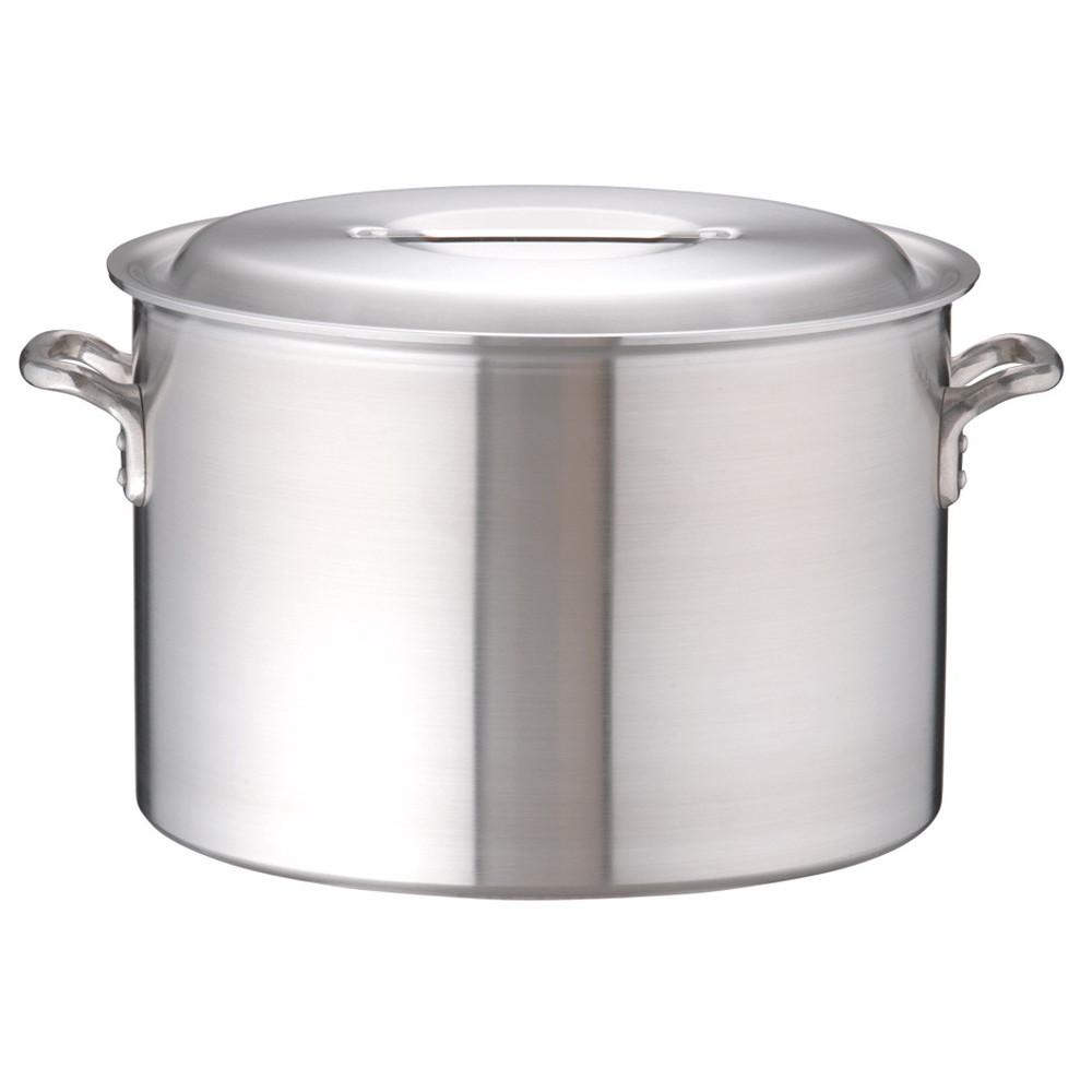 アルミDON半寸胴鍋 51cm [ 外径:531mm 深さ:350mm 70L ] [ 料理道具 ] | 厨房 キッチン 飲食店 ホテル レストラン 業務用
