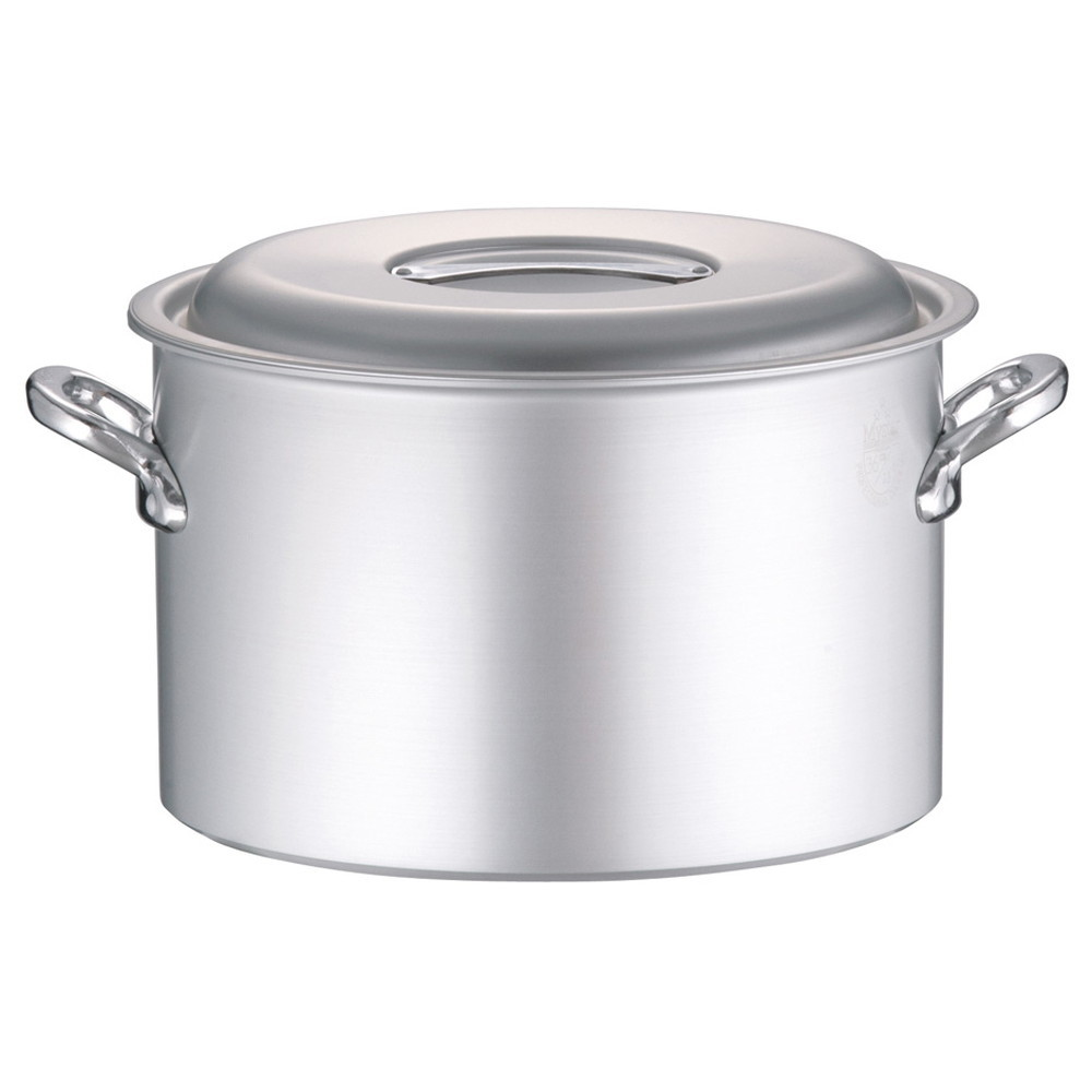 アルミ マイスター半寸胴鍋 36cm [ 外径:392mm 深さ:230mm 約23L ] [ 料理道具 ] | 厨房 キッチン 飲食店 ホテル レストラン 業務用