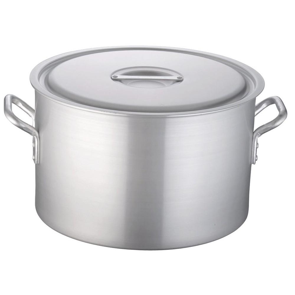 TKG 半寸胴鍋 アルミニウム 目盛付(アルマイト加工) 42cm [ 外径:443mm 深さ:270mm 36L ] [ 料理道具 ] | 厨房 キッチン 飲食店 ホテル レストラン 業務用