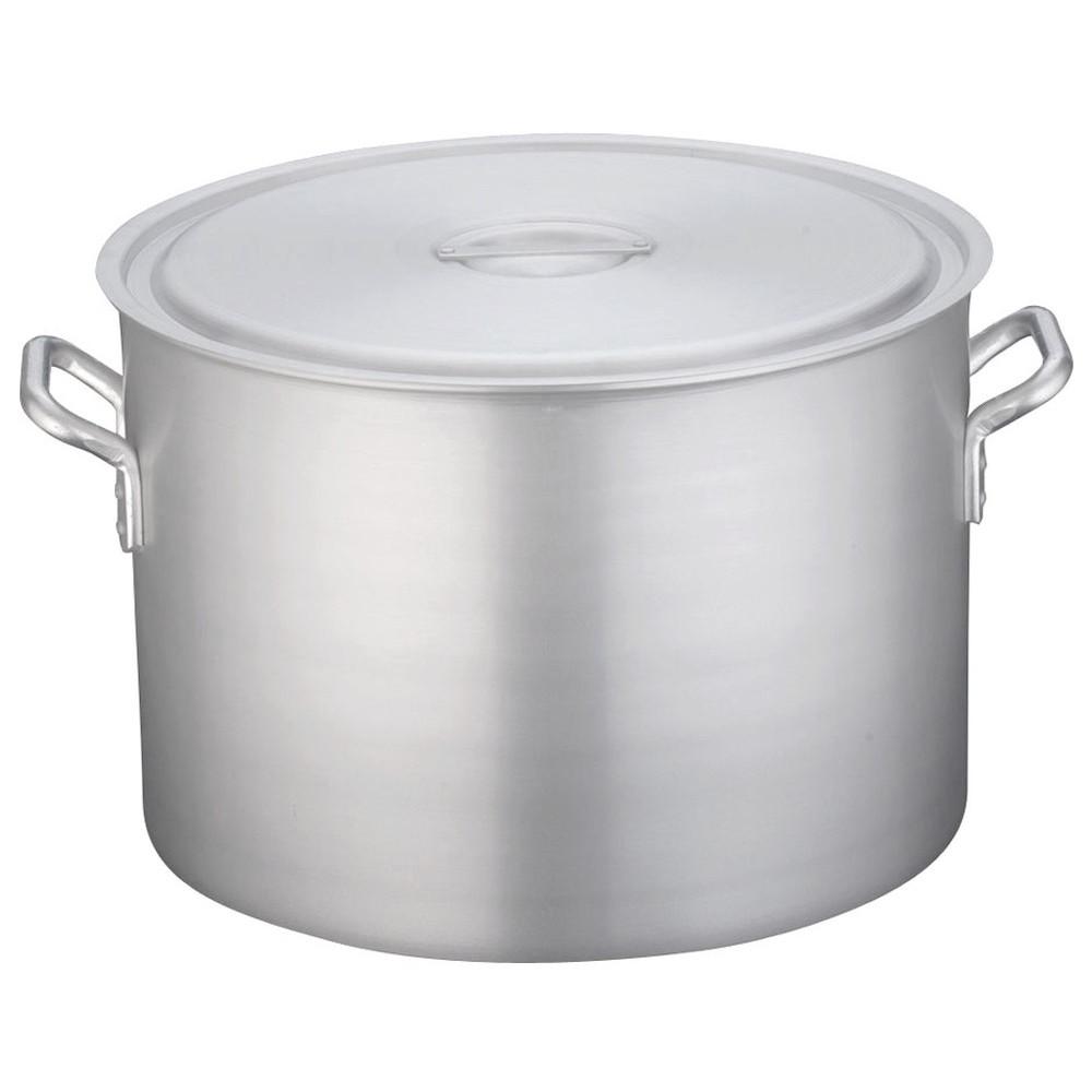 TKG 半寸胴鍋 アルミニウム 目盛付(アルマイト加工) 54cm [ 外径:561mm 深さ:380mm 86L ] [ 料理道具 ] | 厨房 キッチン 飲食店 ホテル レストラン 業務用