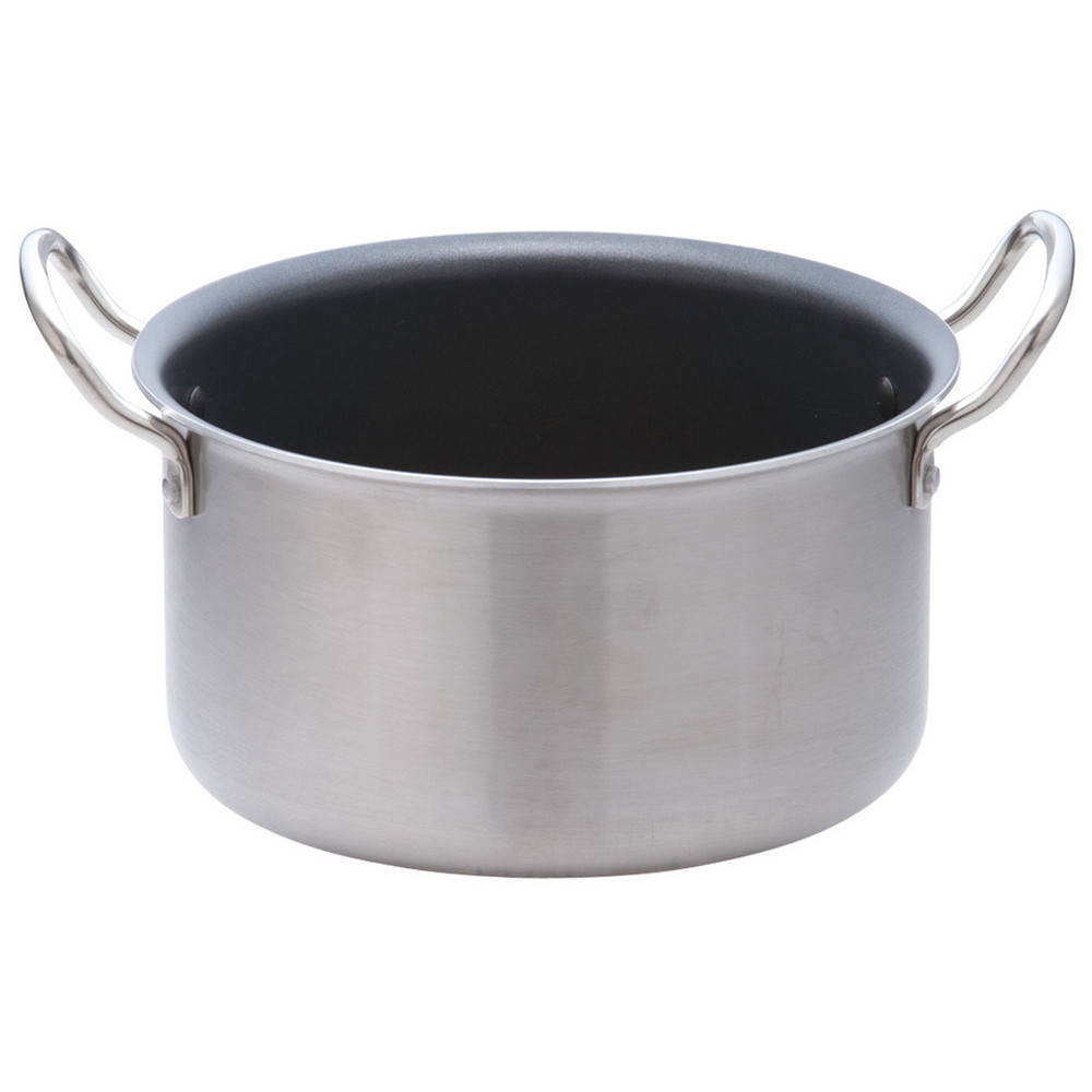 TKG IHセレクト 2層クラッド 半寸胴鍋 24cm [ 外径:260mm 深さ:170mm 底径:200mm 6L ] [ 料理道具 ] | 厨房 キッチン 飲食店 ホテル レストラン 業務用