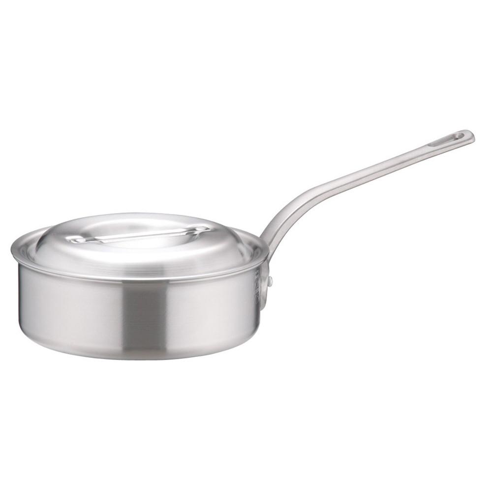 アルミDON片手浅型鍋 21cm [ 外径:226mm 深さ:70mm 2.3L ] [ 料理道具 ] | 厨房 キッチン 飲食店 ホテル レストラン 業務用