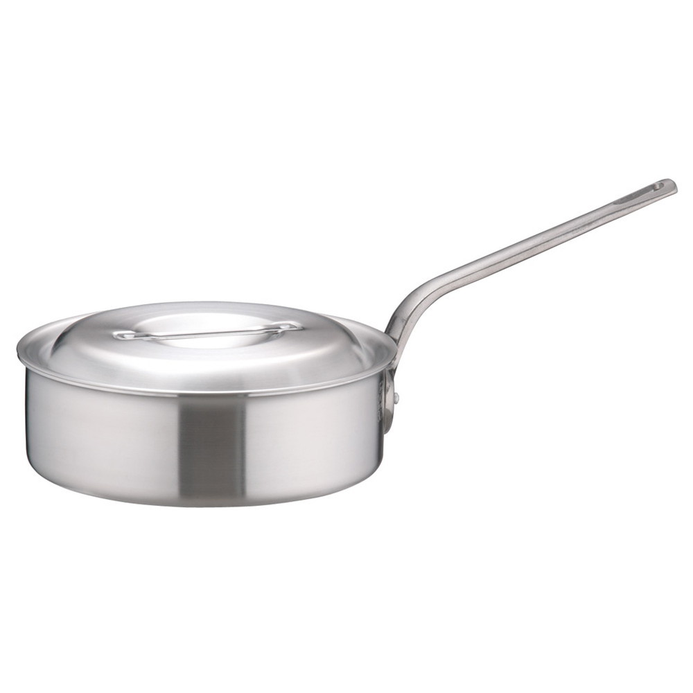 アルミDON片手浅型鍋 30cm [ 外径:317mm 深さ:100mm 6.8L ] [ 料理道具 ] | 厨房 キッチン 飲食店 ホテル レストラン 業務用