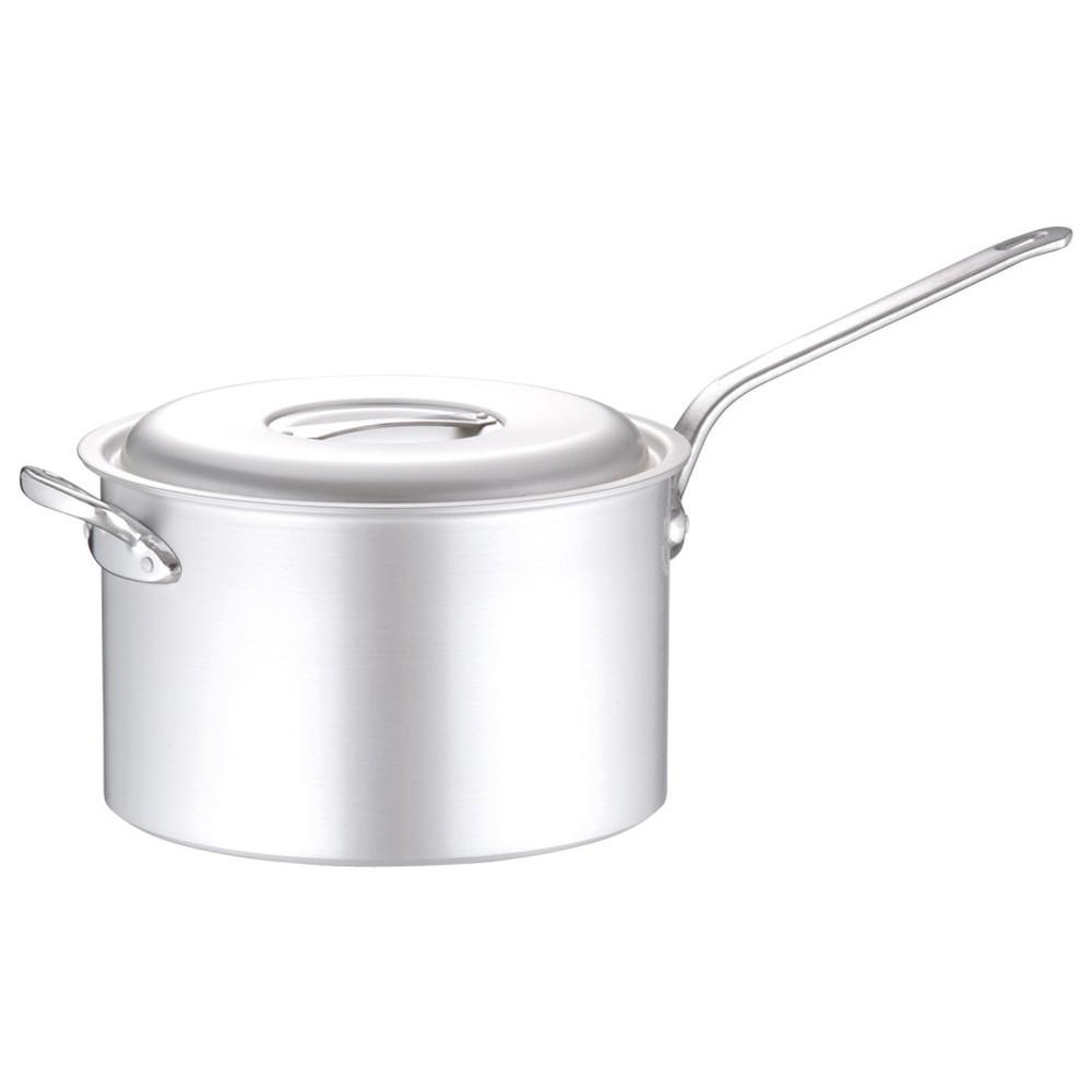 アルミ マイスター片手深型鍋 36cm [ 外径:392mm 深さ:230mm 約23.0L ] [ 料理道具 ] | 厨房 キッチン 飲食店 ホテル レストラン 業務用