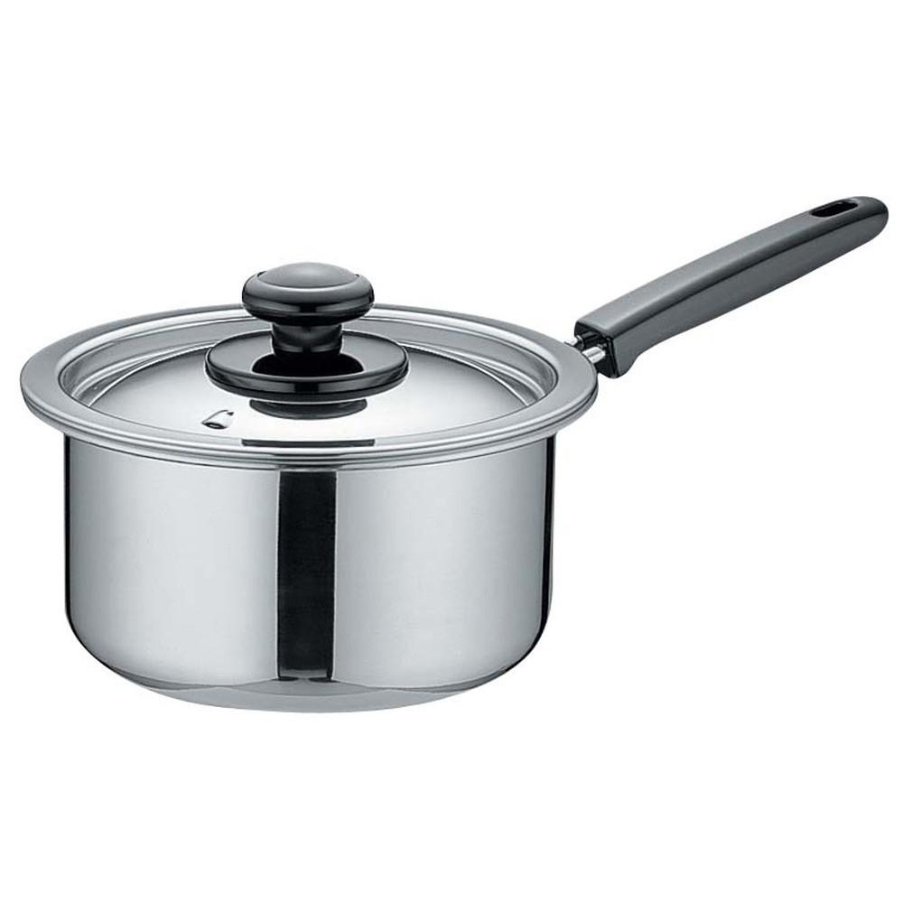 モリブデン 片手鍋 20cm [ 外径:235mm 深さ:110mm 底径:190mm 3.3L ] [ 料理道具 ] | 厨房 食堂 和食 ホテル 飲食店 業務用