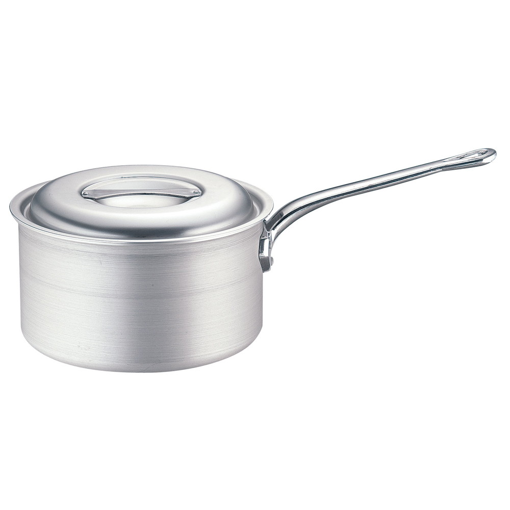 TKG IHアルミ 深型片手鍋(目盛付) 24cm [ 外径:263mm 深さ:120mm 底径:195mm 6.2L ] [ 料理道具 ] | 厨房 キッチン 飲食店 ホテル レストラン 業務用