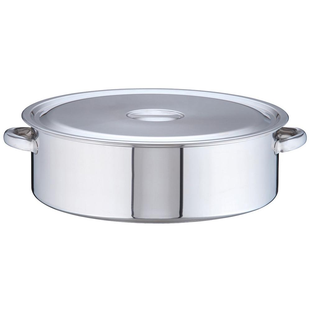 18-8 外輪鍋 48cm [ 内径:48cm 外径:502mm 深さ:160mm 29L ] [ 料理道具 ] | 厨房 キッチン 飲食店 ホテル レストラン 業務用
