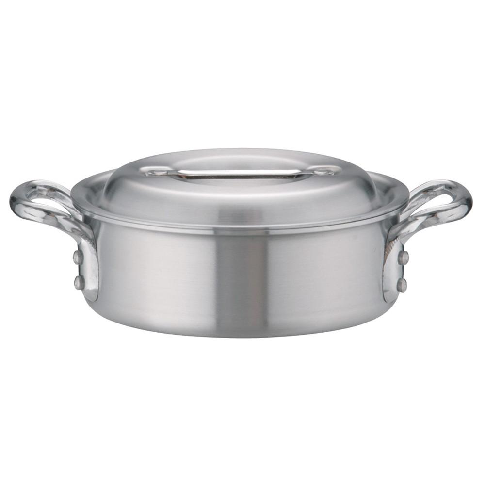 アルミDON外輪鍋 18cm [ 外径:196mm 深さ:65mm 1.5L ] [ 料理道具 ]   厨房 キッチン 飲食店 ホテル レストラン 業務用