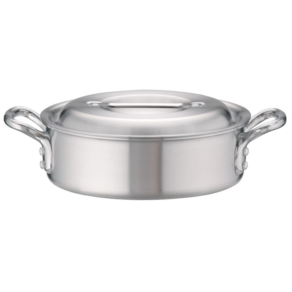 アルミDON外輪鍋 24cm [ 外径:256mm 深さ:80mm 3.4L ] [ 料理道具 ] | 厨房 キッチン 飲食店 ホテル レストラン 業務用
