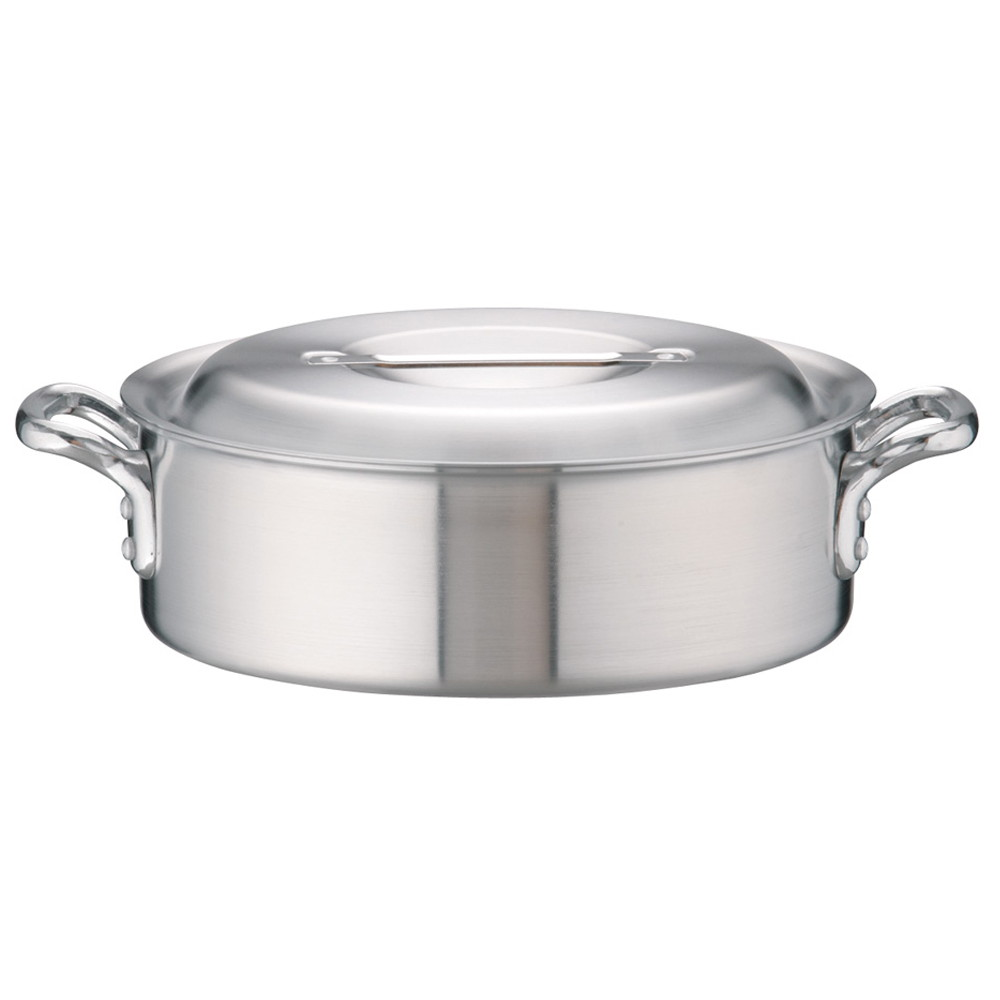 アルミDON外輪鍋 33cm [ 外径:349mm 深さ:110mm 9.1L ] [ 料理道具 ] | 厨房 キッチン 飲食店 ホテル レストラン 業務用