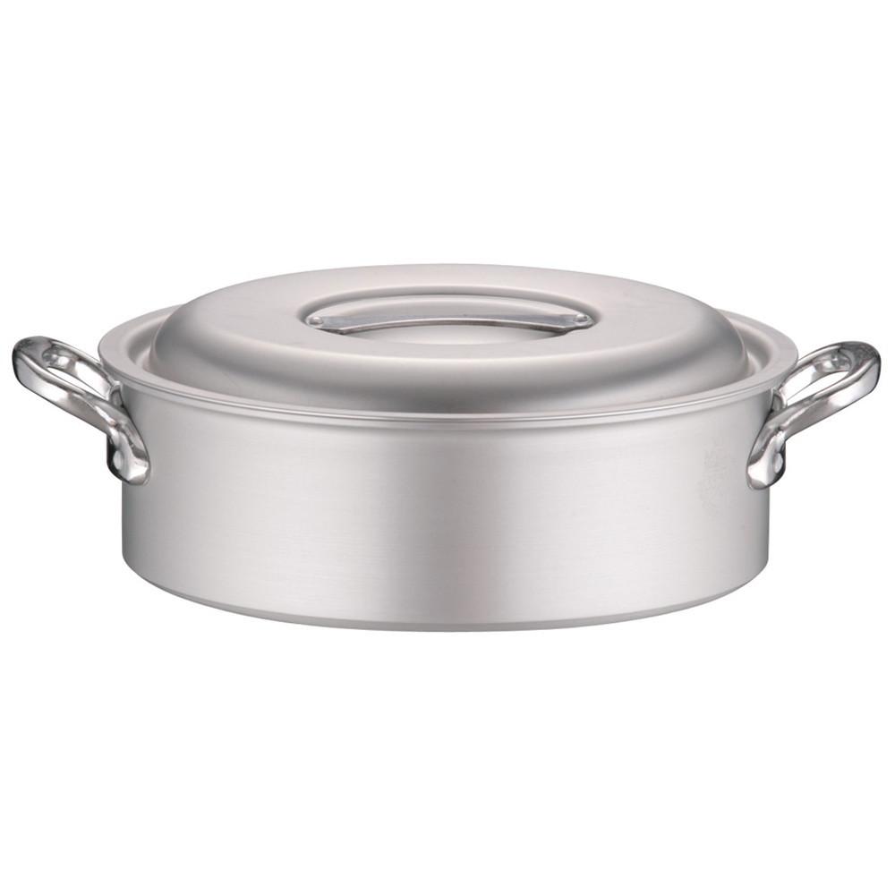 アルミ マイスター外輪鍋 33cm [ 外径:361mm 深さ:110mm 約9.5L ] [ 料理道具 ] | 厨房 キッチン 飲食店 ホテル レストラン 業務用