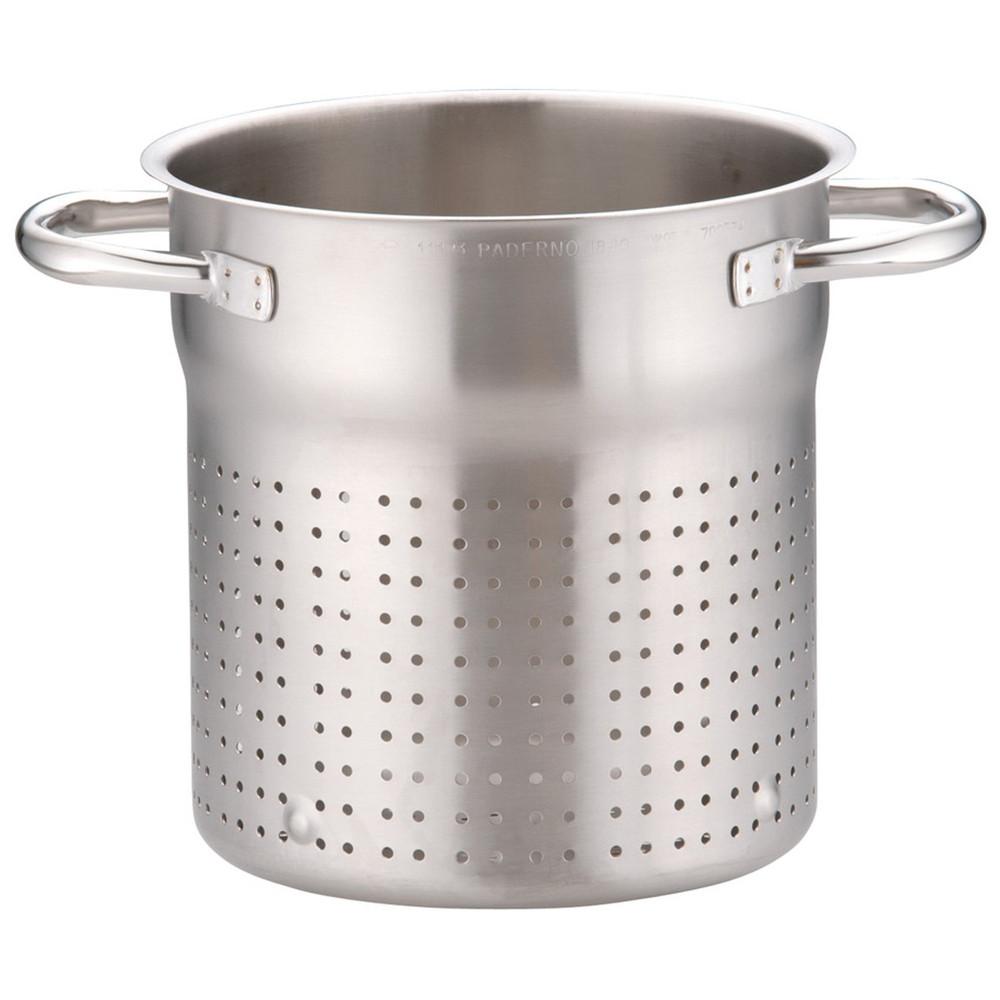 パデルノ 18-10スチームポット 1123-20 [ 内径:200 x 深さ:220mm ] [ 料理道具 ] | 厨房 キッチン 飲食店 ホテル レストラン 業務用