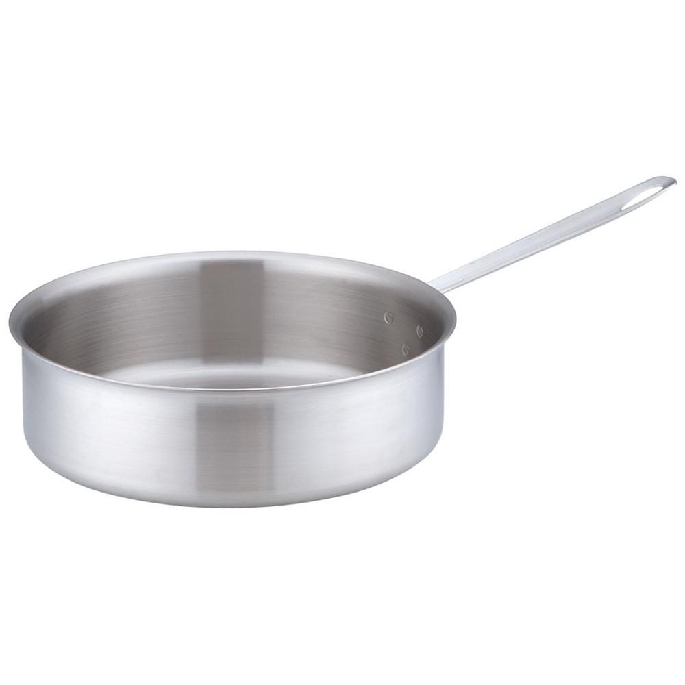 トリノ ソテーパン 30cm [ 外径:325mm 深さ:100mm 底径:270mm 7L ] [ 料理道具 ] | 厨房 キッチン 飲食店 ホテル レストラン 業務用