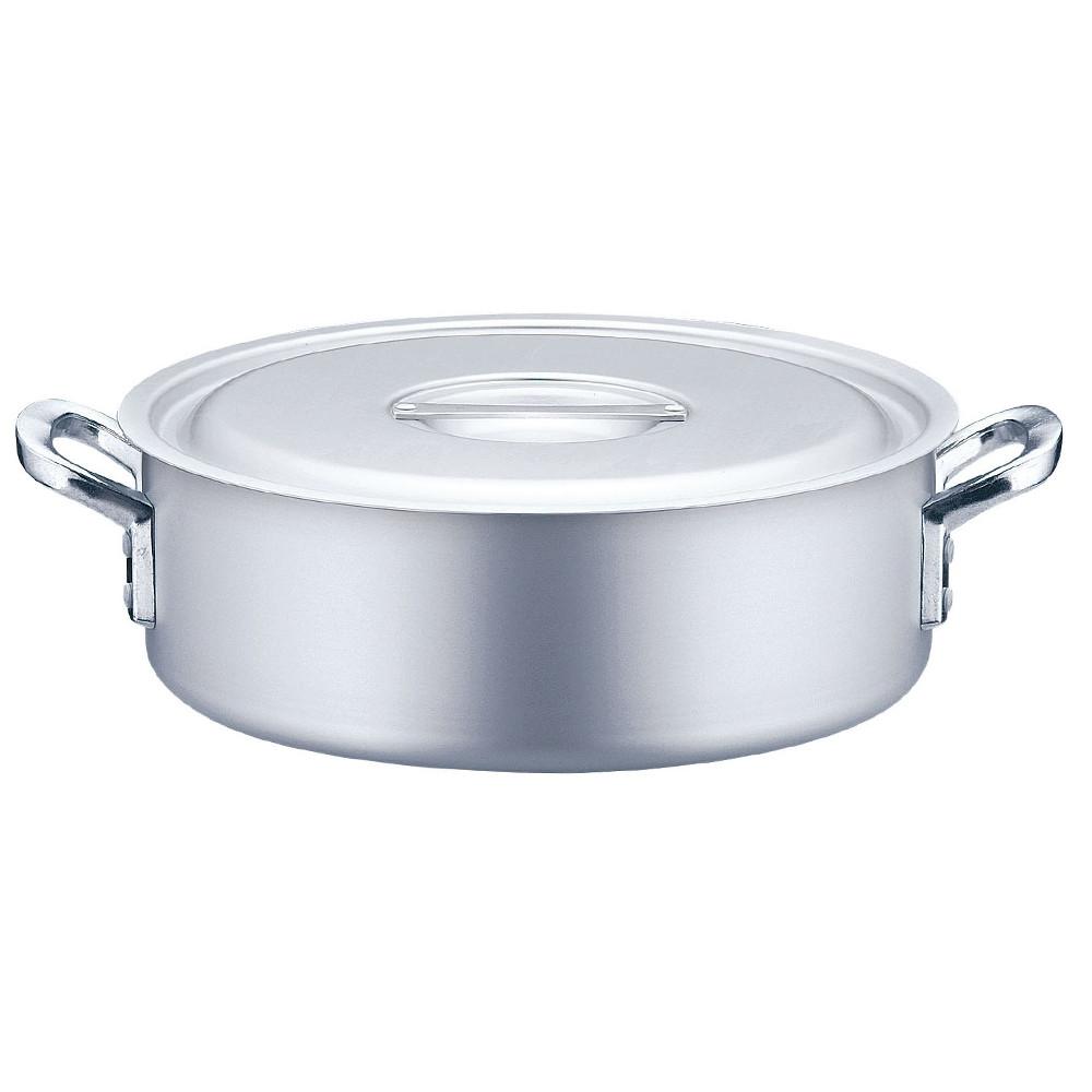 TKG アルミニウム 外輪鍋 目盛付(アルマイト加工) 21cm [ 外径:215mm 深さ:70mm 2.4L ] [ 料理道具 ] | 厨房 キッチン 飲食店 ホテル レストラン 業務用