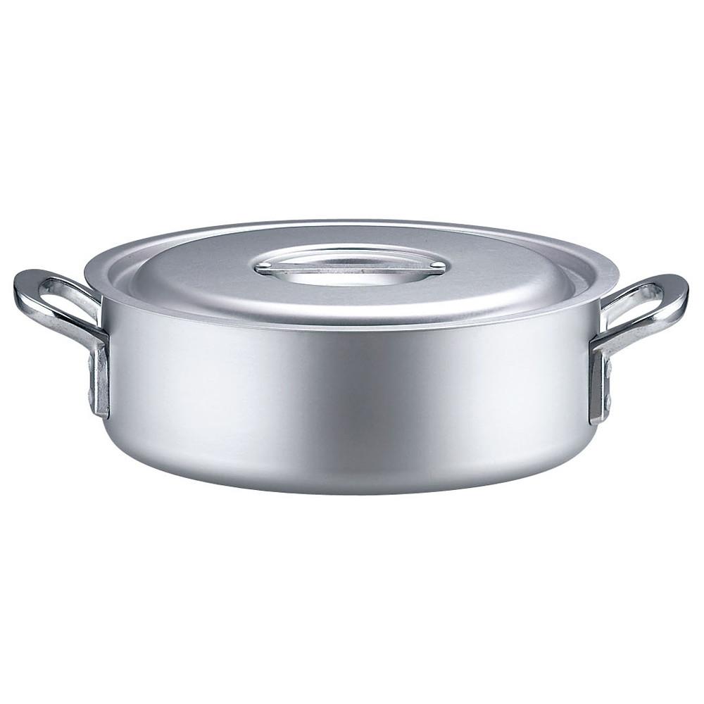 TKG アルミニウム 外輪鍋 目盛付(アルマイト加工) 54cm [ 外径:548mm 深さ:180mm 41L ] [ 料理道具 ] | 厨房 キッチン 飲食店 ホテル レストラン 業務用