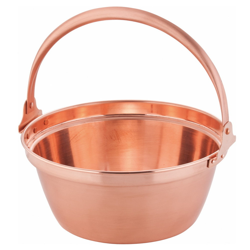 銅 山菜鍋(内側錫引きなし) 27cm [ 外径:280mm 深さ:120mm 3.8L ] [ 料理道具 ] | 厨房 食堂 和食 ホテル 飲食店 業務用