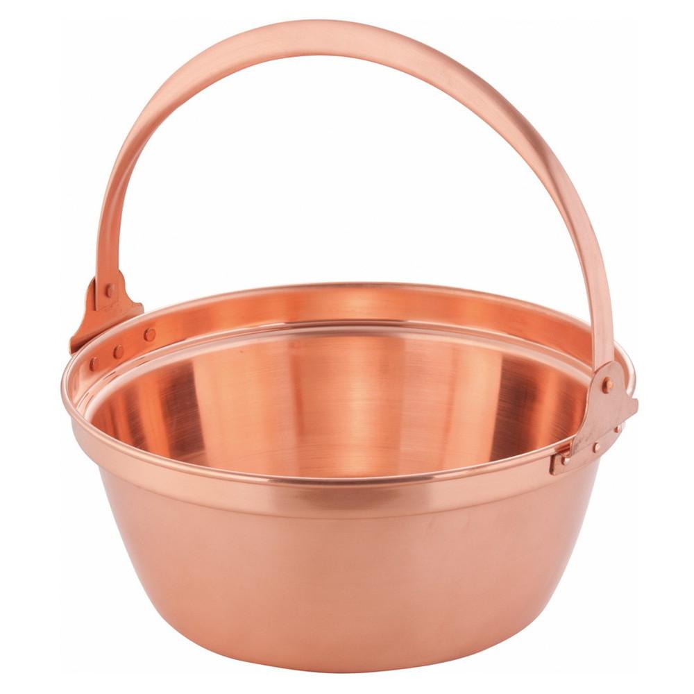 銅 山菜鍋(内側錫引きなし) 30cm [ 外径:310mm 深さ:130mm 5L ] [ 料理道具 ] | 厨房 食堂 和食 ホテル 飲食店 業務用