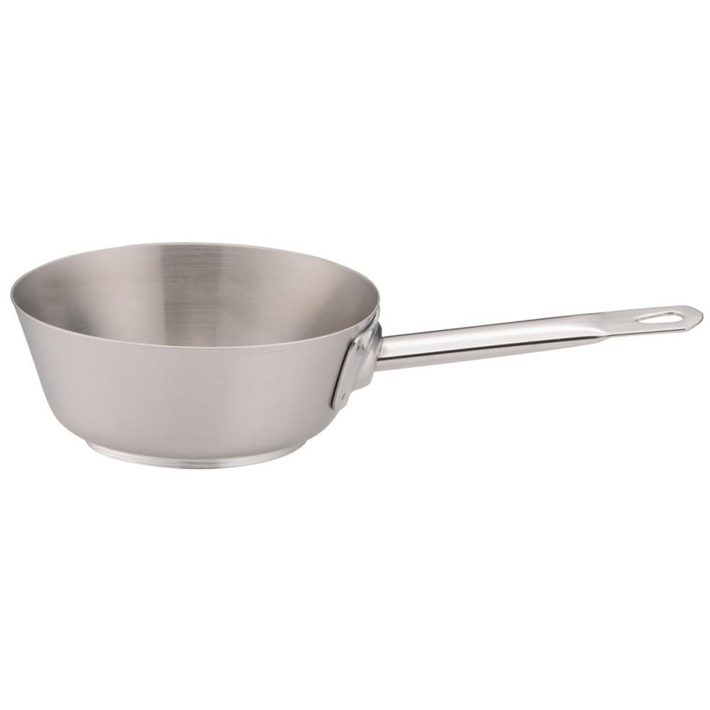 パデルノ18-10テーパーパン 1112-16 [ 外径:164mm 深さ:60mm 底径:99mm 1L ] [ 料理道具 ] | 厨房 キッチン 飲食店 ホテル レストラン 業務用