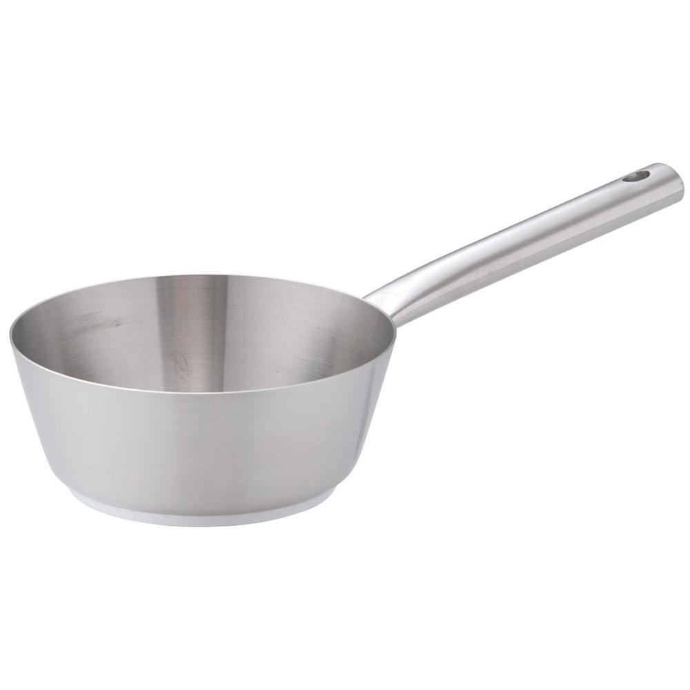 Murano(ムラノ)インダクション18-8テーパーパン 16cm [ 外径:164mm 深さ:60mm 底径:110mm 1L ] [ 料理道具 ] | 厨房 キッチン 飲食店 ホテル レストラン 業務用