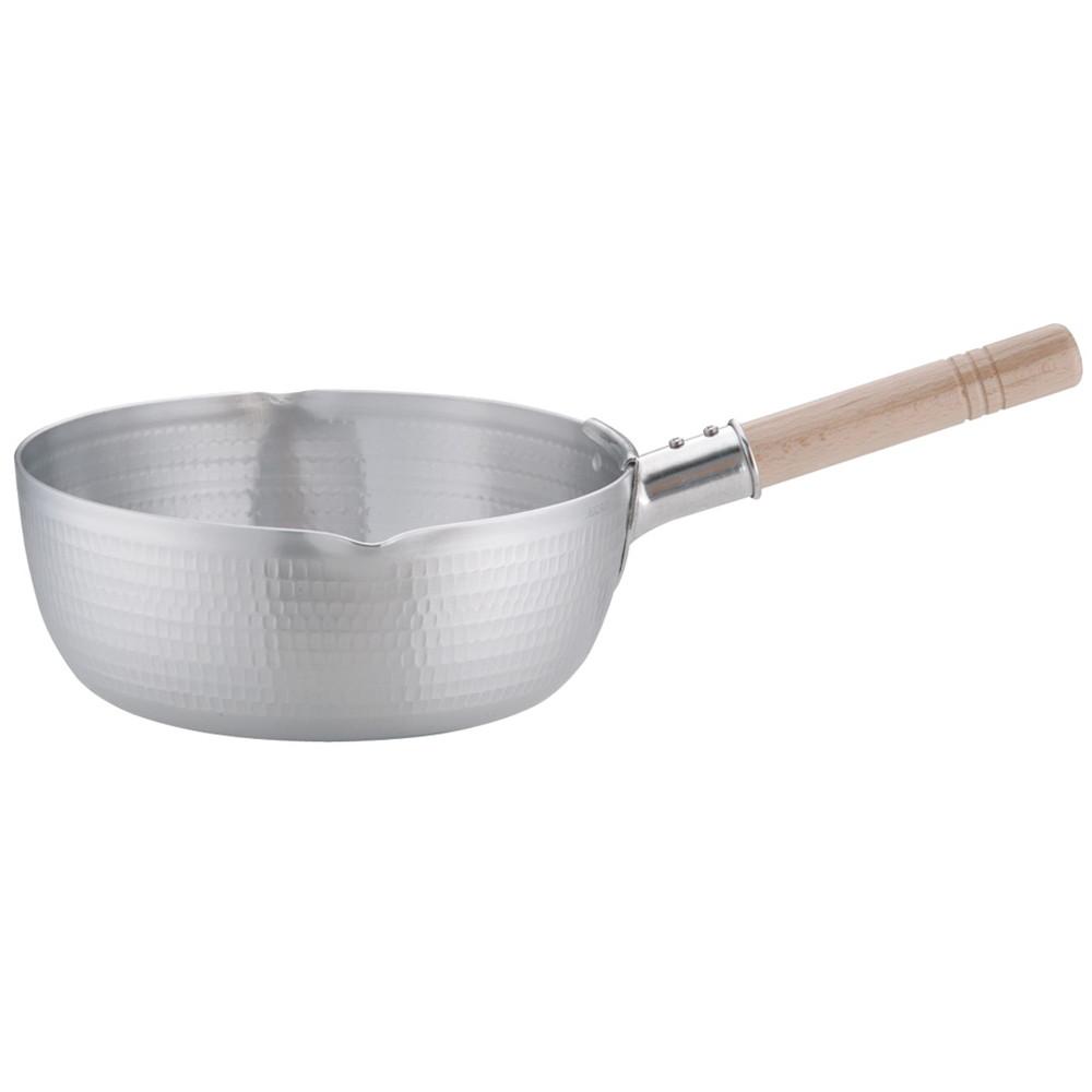 アルミDON雪平鍋(両口) 26cm [ 内径:260 x 深さ:100mm 4.2L ] [ 料理道具 ]   厨房 キッチン 和食 料亭 業務用