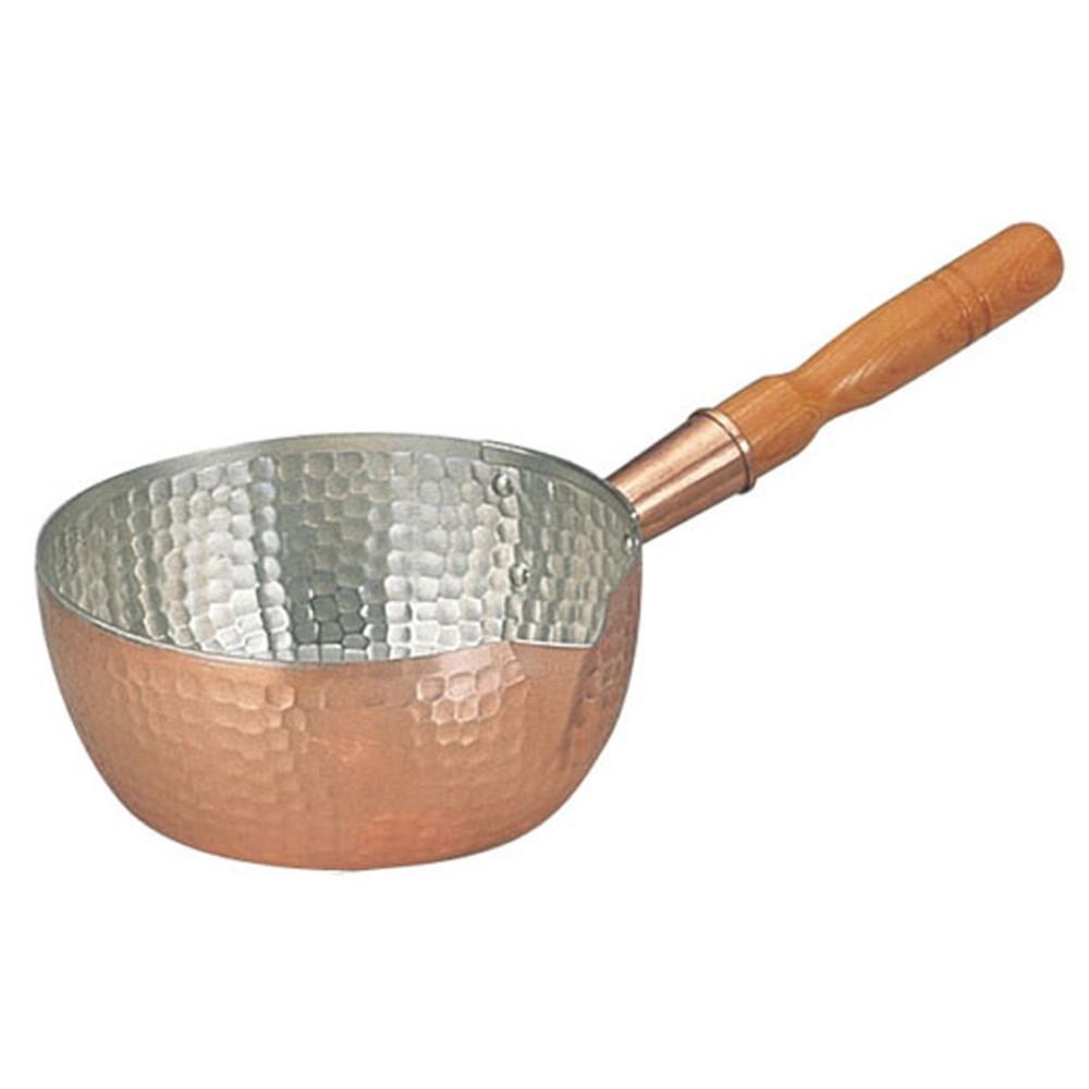 銅製雪平鍋 18cm [ 内径:180 x 深さ:84mm 1.4L ] [ 料理道具 ] | 厨房 食堂 和食 ホテル キッチン 飲食店 業務用