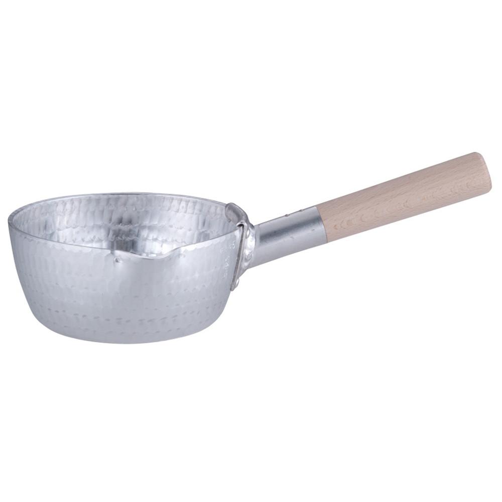 アルミ 本職用 手打雪平鍋(3mm厚) 15cm [ 内径:150 x 深さ:65mm 約1.0L ] [ 料理道具 ] | 厨房 食堂 和食 ホテル キッチン 飲食店 業務用