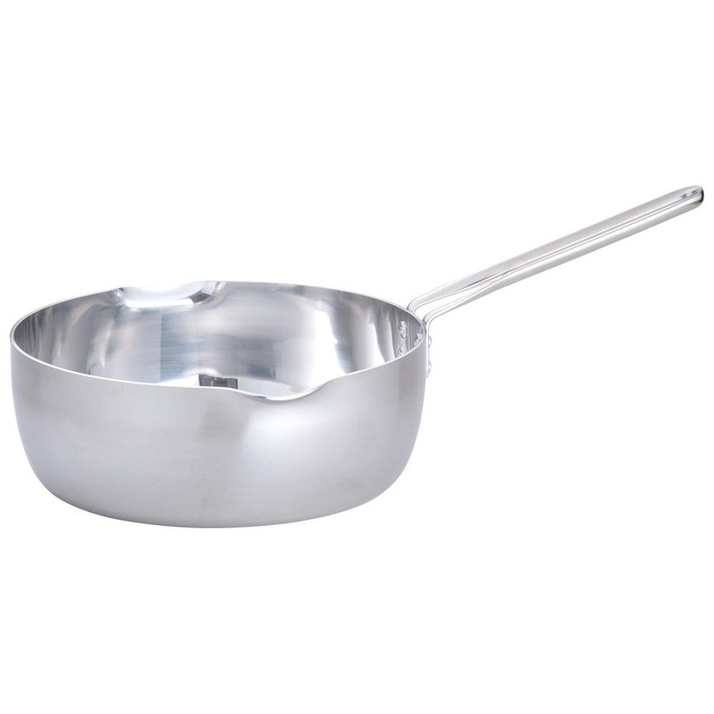 TKG IH2層クラッド 雪平鍋 24cm [ 内径:240 x 深さ:90mm 底径:190mm 3.3L ] [ 料理道具 ] | 厨房 食堂 和食 ホテル キッチン 飲食店 業務用