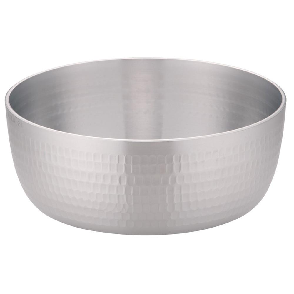 アルミDON矢床鍋 21cm [ 内径:210 x 深さ:85mm 2.5L ] [ 料理道具 ] | 厨房 キッチン 和食 料亭 業務用
