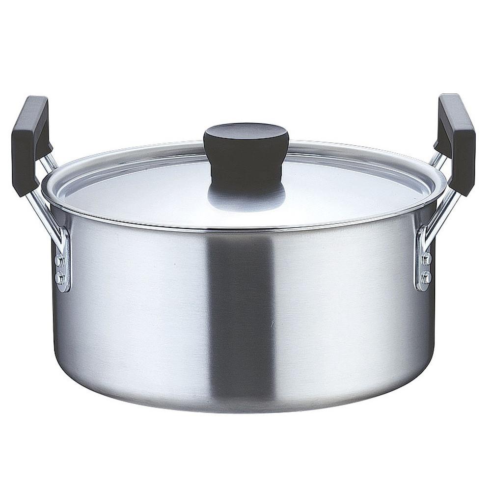 TKG クラッド 実用鍋 27cm [ 外径:285mm 深さ:132mm 底径:240mm 7.4L ] [ 料理道具 ] | 厨房 食堂 和食 ホテル 飲食店 業務用