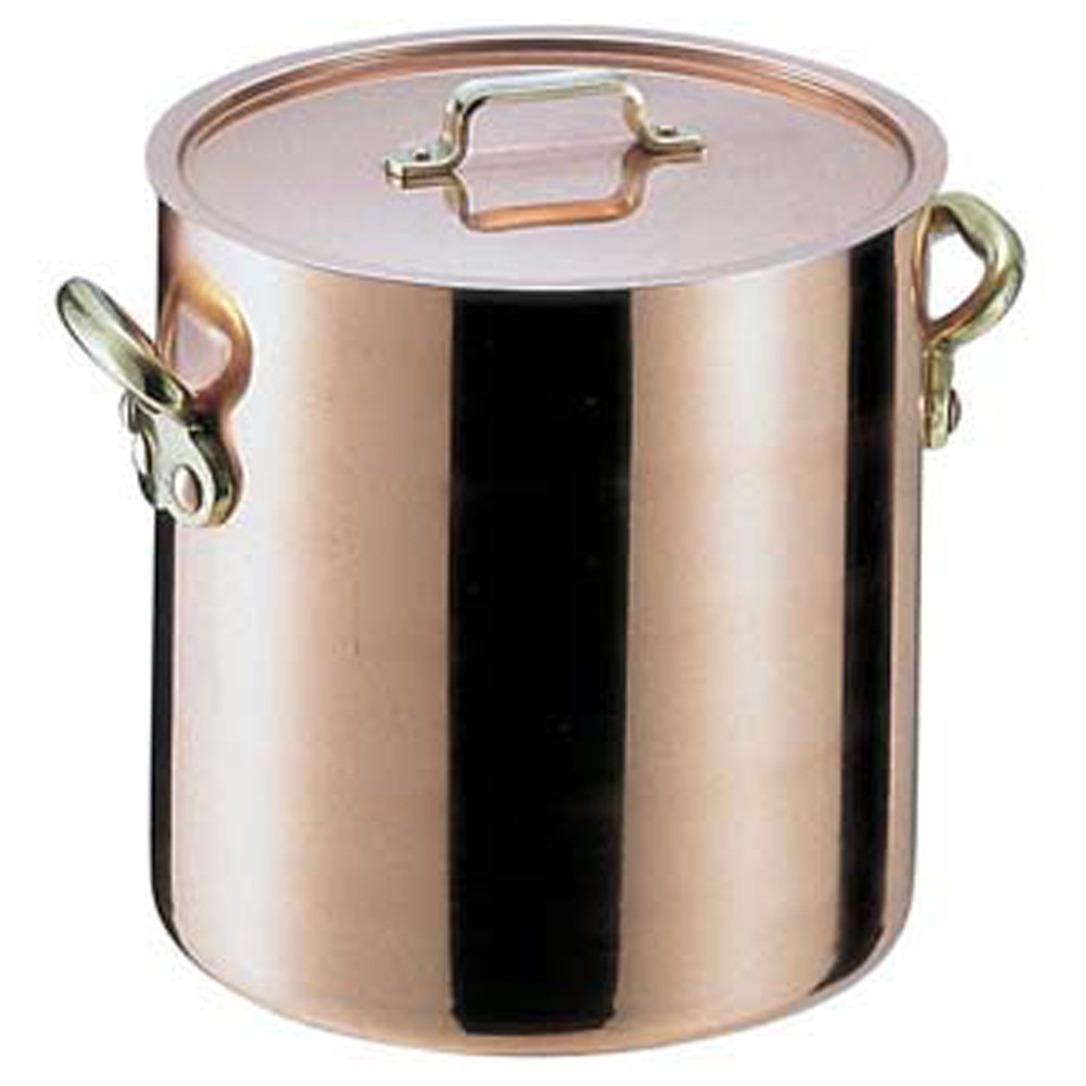 エトール銅 寸胴鍋 21cm [ 内径:210 x 深さ:210mm 7.2L ] [ 料理道具 ] | 厨房 キッチン 飲食店 ホテル レストラン 業務用
