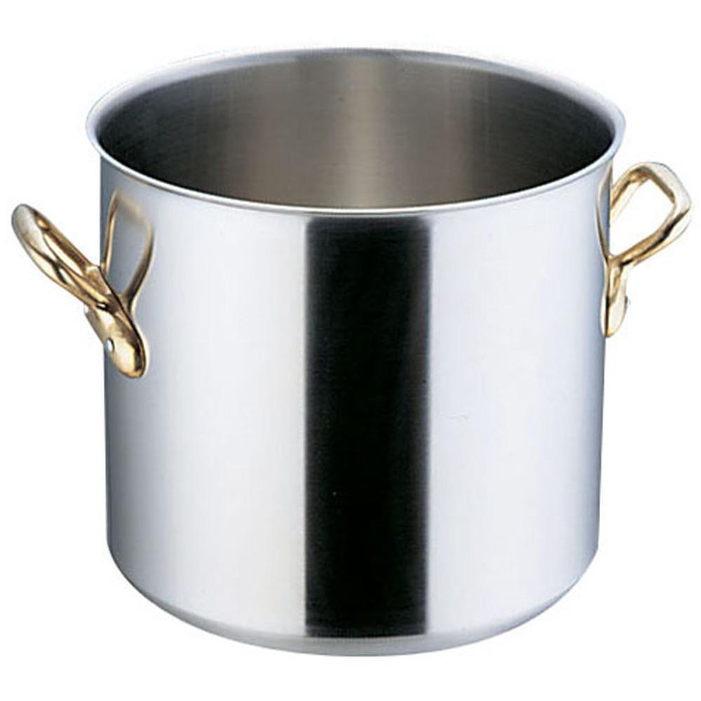 スーパーデンジ 寸胴鍋(蓋無) 21cm [ 外径:222mm 深さ:200mm 底径:185mm 6.8L ] [ 料理道具 ] | 厨房 キッチン 飲食店 ホテル レストラン 業務用