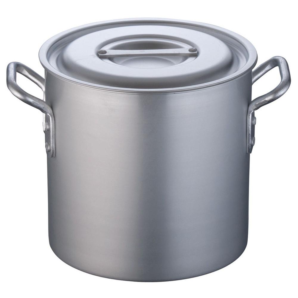 TKG 寸胴鍋 アルミニウム 目盛付(アルマイト加工) 24cm [ 外径:258mm 深さ:240mm 10.7L ] [ 料理道具 ] | 厨房 キッチン 飲食店 ホテル レストラン 業務用