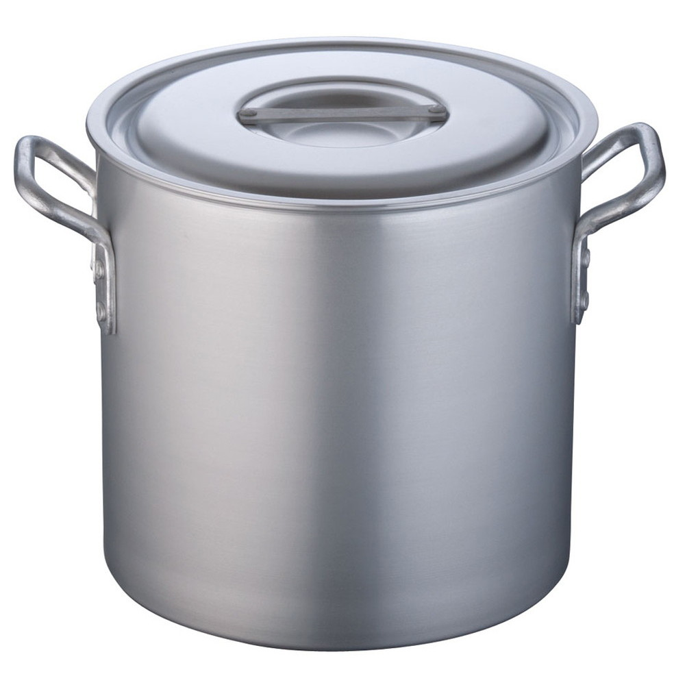 TKG 寸胴鍋 アルミニウム 目盛付(アルマイト加工) 27cm [ 外径:286mm 深さ:270mm 15.2L ] [ 料理道具 ] | 厨房 キッチン 飲食店 ホテル レストラン 業務用