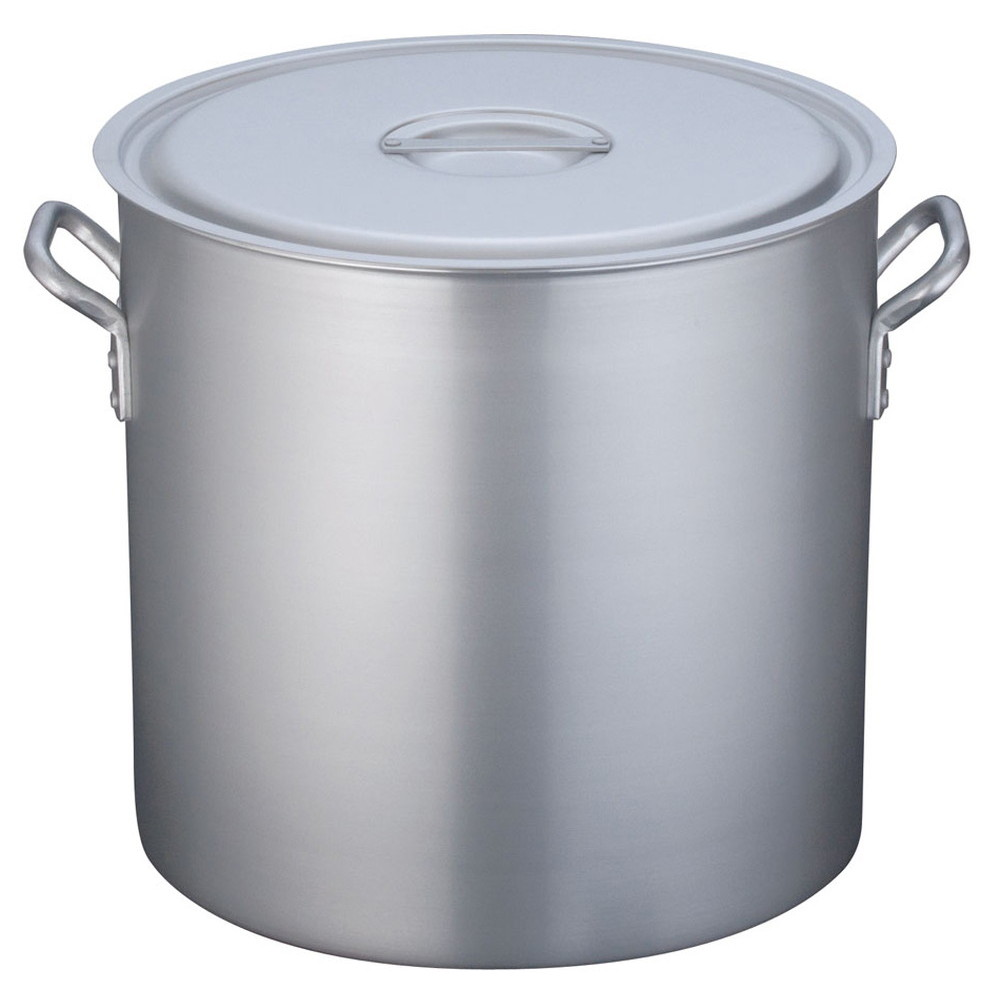 TKG 寸胴鍋 アルミニウム 目盛付(アルマイト加工) 45cm [ 外径:474mm 深さ:450mm 70L ] [ 料理道具 ] | 厨房 キッチン 飲食店 ホテル レストラン 業務用
