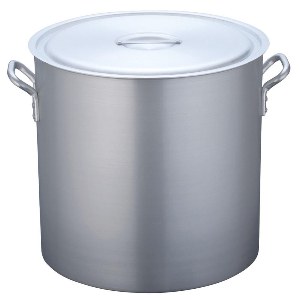 TKG 寸胴鍋 アルミニウム 目盛付(アルマイト加工) 48cm [ 外径:503mm 深さ:480mm 86L ] [ 料理道具 ] | 厨房 キッチン 飲食店 ホテル レストラン 業務用