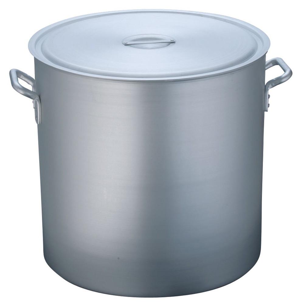 TKG 寸胴鍋 アルミニウム 目盛付(アルマイト加工) 60cm [ 外径:625mm 深さ:600mm 161L ] [ 料理道具 ]   厨房 キッチン 飲食店 ホテル レストラン 業務用