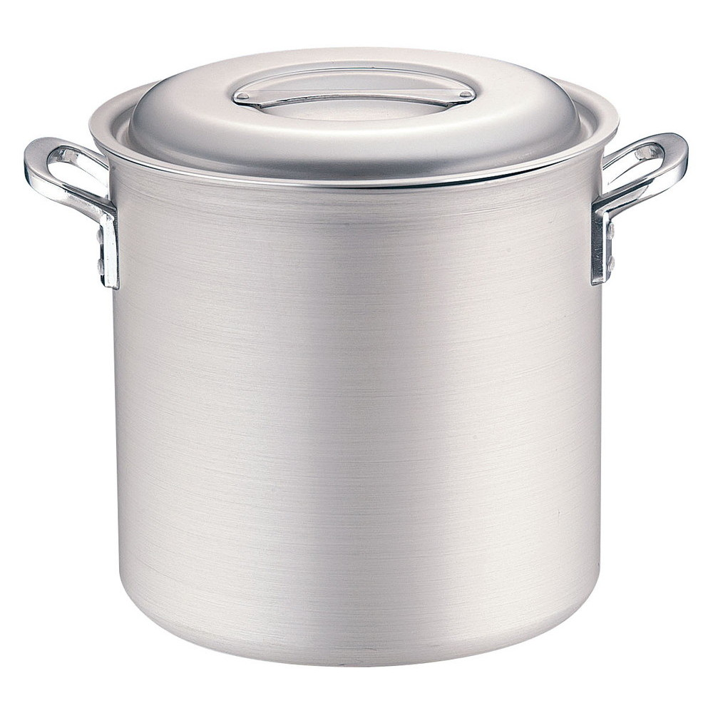 TKG IHアルミ 寸胴鍋(目盛付) 33cm [ 外径:361mm 深さ:330mm 底径:250mm 27L ] [ 料理道具 ] | 厨房 キッチン 飲食店 ホテル レストラン 業務用
