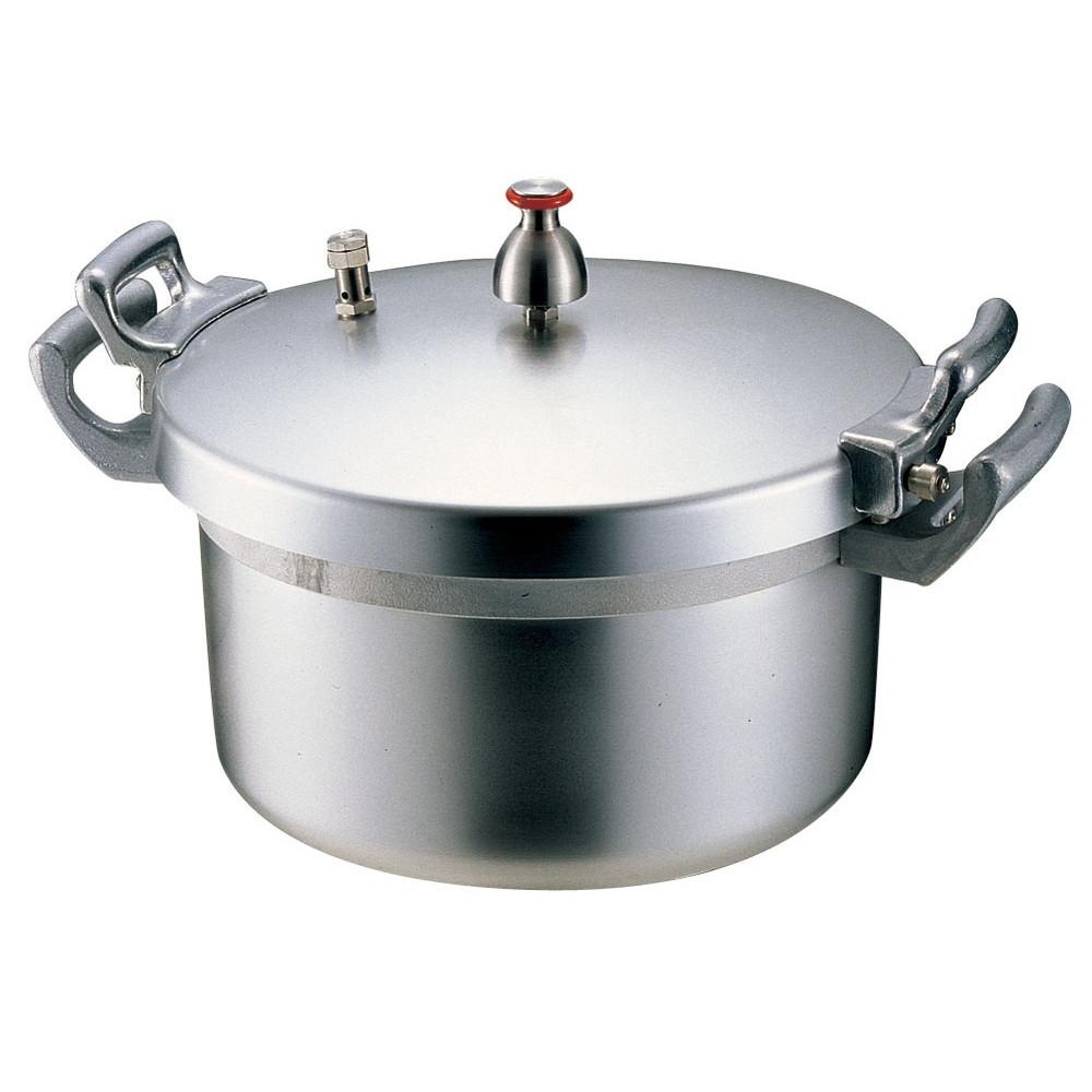 ホクア 業務用アルミ圧力鍋 21L [ 内径:360mmH228mm ] [ 料理道具 ] | 厨房 飲食店 ホテル レストラン 業務用