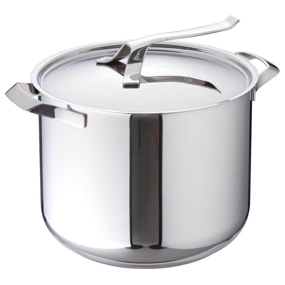 バラゾーニ18-10マイポット ストックポット (蓋付) 28cm [ 内径:280mm深さ:230mm13.5L ] [ 料理道具 ] | 厨房 飲食店 レストラン ホテル 業務用