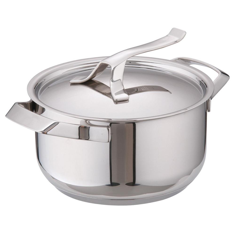 バラゾーニ18-10マイポット シチューポット (蓋付) 20cm [ 内径:200mm深さ:118mm3L ] [ 料理道具 ] | 厨房 飲食店 レストラン ホテル 業務用