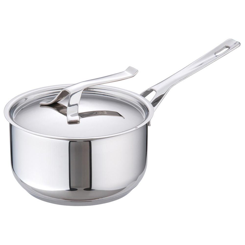 バラゾーニ18-10マイポット ソースパン(蓋付) 20cm [ 内径:200mm深さ:105mm3L ] [ 料理道具 ] | 厨房 飲食店 レストラン ホテル 業務用