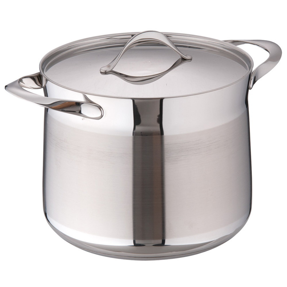 バラゾーニ18-10マイレディ ストックポット (蓋付) 24cm [ 内径:240mm深さ:200mm8L ] [ 料理道具 ] | 厨房 飲食店 レストラン ホテル 業務用