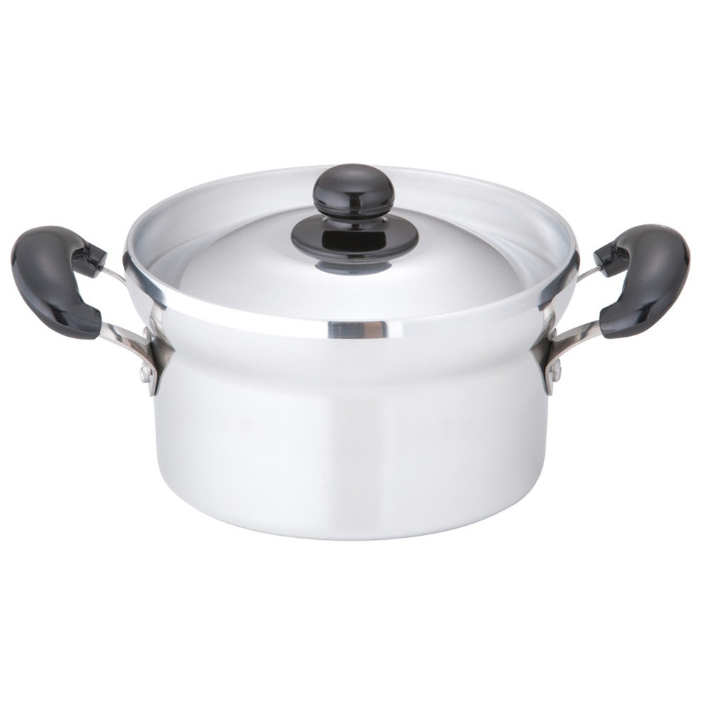 アルミキャスト DX 文化鍋 No.18 18cm [ 直径:180mm質量:0.9kg ] [ 料理道具 ] | キッチン 厨房 台所 時短 自宅用 業務用