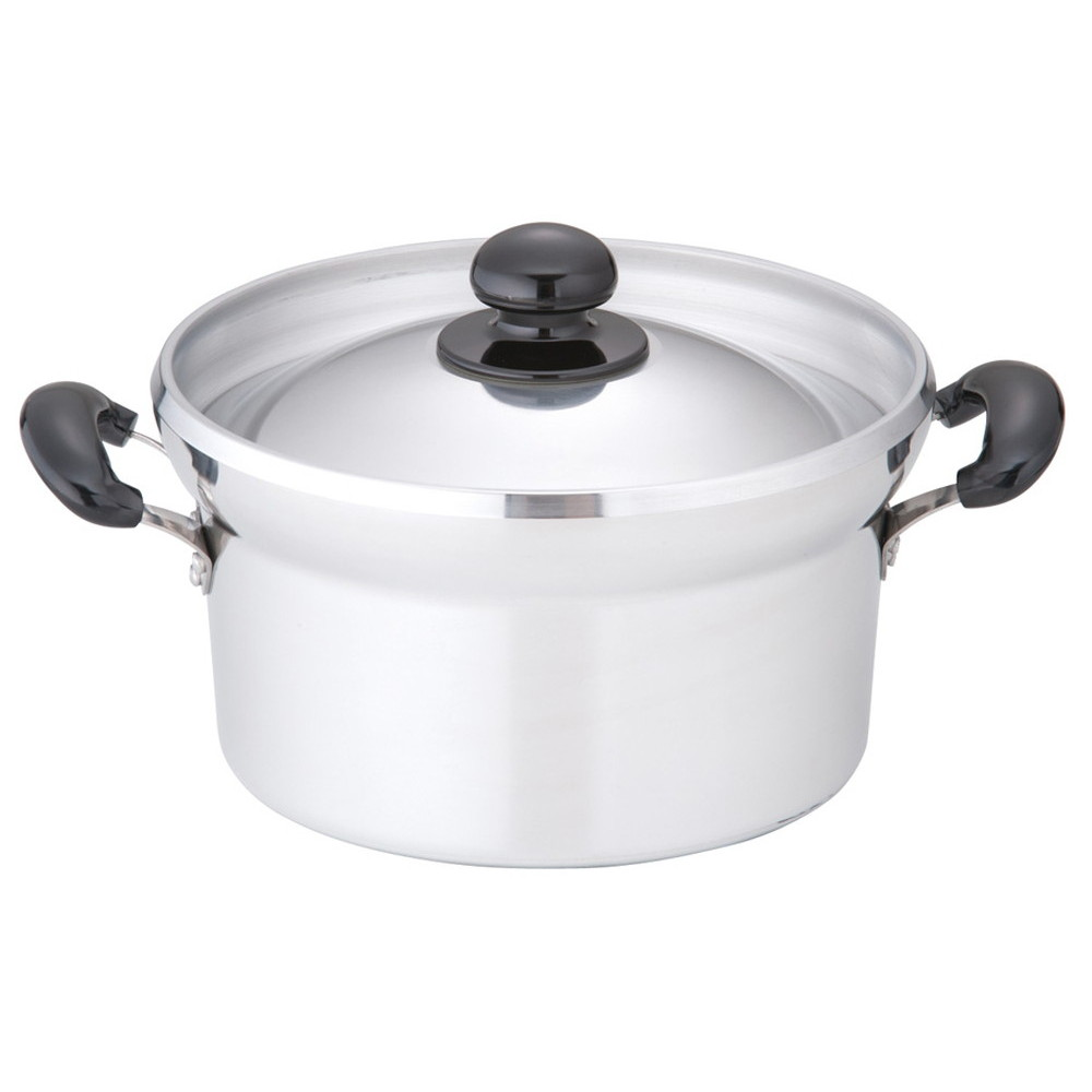 アルミキャスト DX 文化鍋 No.24 24cm [ 直径:240mm外径:248mm質量:1.4kg ] [ 料理道具 ]   キッチン 厨房 台所 時短 自宅用 業務用